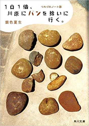 【書評】銀色夏生『つれづれノート38(最新) 1日1個、川原にパンを拾いに行く。』あらすじと感想